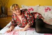 Free porn pics of Big Fat Granny Sticks a Dildo in Snatch 1 of 97 pics