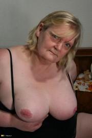 Free porn pics of Horny BBW blond granny pleasures herself. 1 of 40 pics