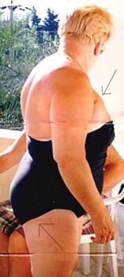 Free porn pics of FAT NECK,HUGE BACK, BIG TITS,HUGE ASS,POT BELLY,MEET MY MOM! 1 of 1 pics