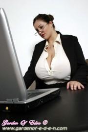 Free porn pics of Eden Mor - Secretary 1 of 48 pics