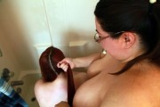 Free porn pics of Gorgeous and Horny Lesbian BBW 1 of 55 pics