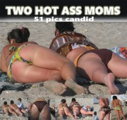 Free porn pics of Two Hot Ass Moms candid 1 of 1 pics