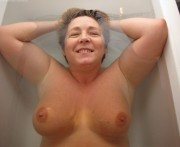 Free porn pics of Ruth From The UK Bathing And Spreading  1 of 55 pics