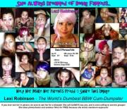 Free porn pics of Lexi Robinson Web-Slut Exposed 1 of 1 pics