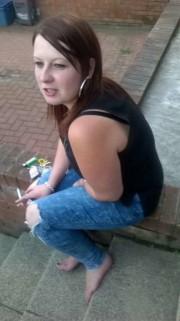 Free porn pics of Chav Bbw Cousin Smoking and Arseshot Candid 1 of 3 pics