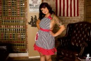 Free porn pics of SuicideGirls - Chubby Linsey 1 of 50 pics