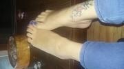 Free porn pics of My pretty feet 1 of 9 pics