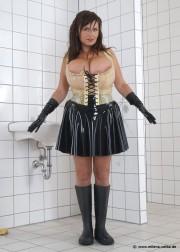 Free porn pics of Latex Maid 1 of 83 pics