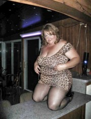 Free porn pics of Bbw in cheetah dress and pantyhose 1 of 13 pics