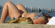 Free porn pics of Bbw Milf beach candid  1 of 38 pics