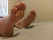 Free porn pics of Wifes meaty soles 1 of 4 pics