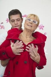 Free porn pics of Granny Regina Teach young Boy 1 of 170 pics
